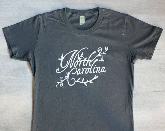 North Carolina T-Shirt from Raleigh Designer Michelle Smith