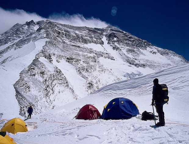 Mt. Everest North Face From Camp 1