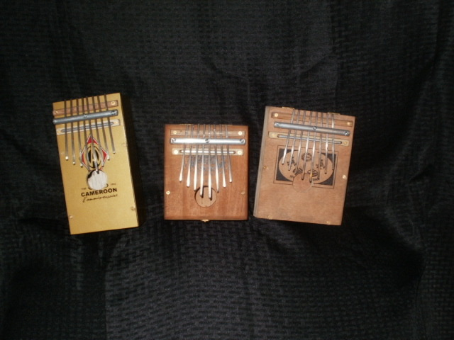 Cigar box kalimbas