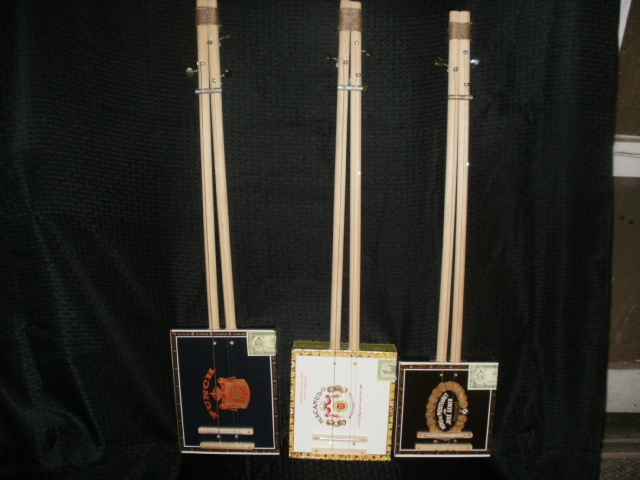 Cigar box Didley Bows / guitars