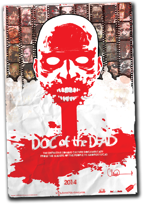 Our official poster by WALKING DEAD artist Charlie Adlard.