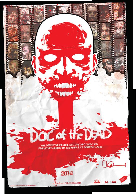 Our official poster by WALKING DEAD artist Charlie Adlard.