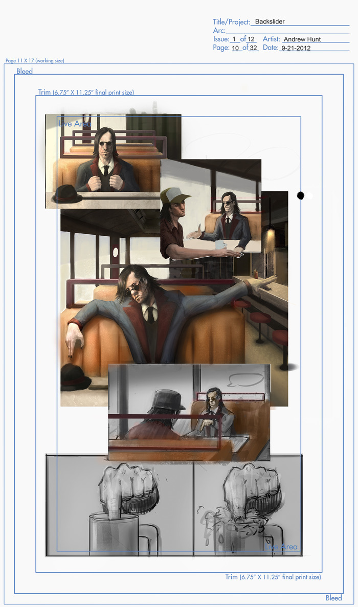Page 10 Work In Progress - Paneling Sample