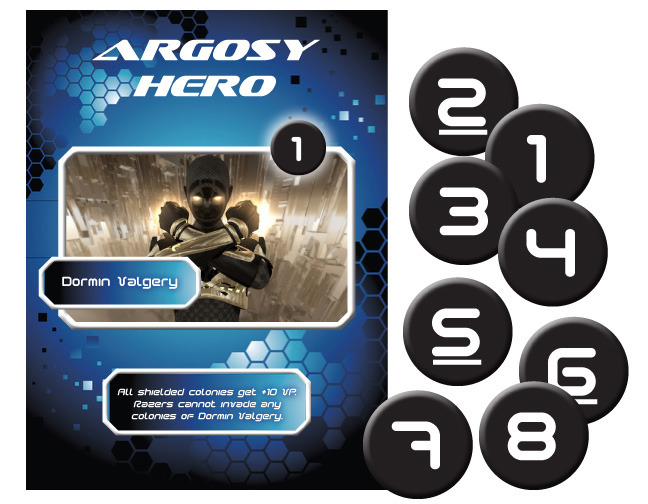 Hero Expansion!  Exclusive to Kickstarter
