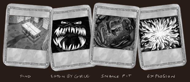 "Our goal is to add as many ""Action Cards"" as we can to enhance your saved quest legends!"