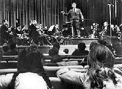 The legendary Leonard Bernstein's Young People's Concerts