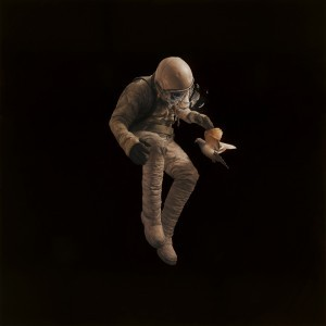 "Jeremy Geddes - ""Adrift"" Oil on Board - 2011"