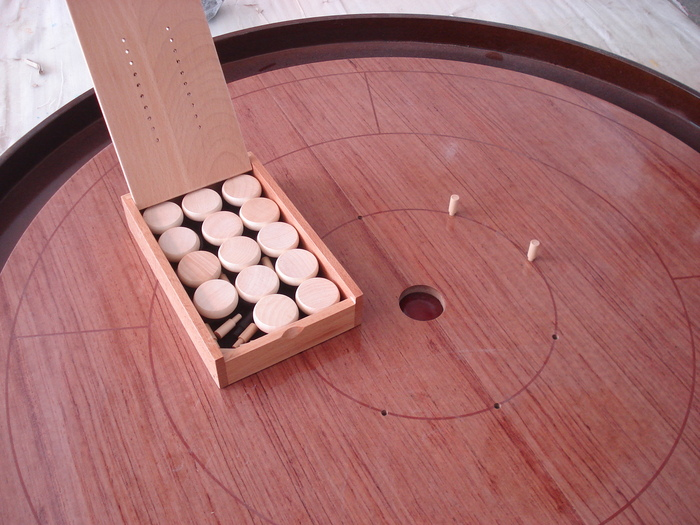 Mayday's 2nd Generation Crokinole Board -2011 Edition