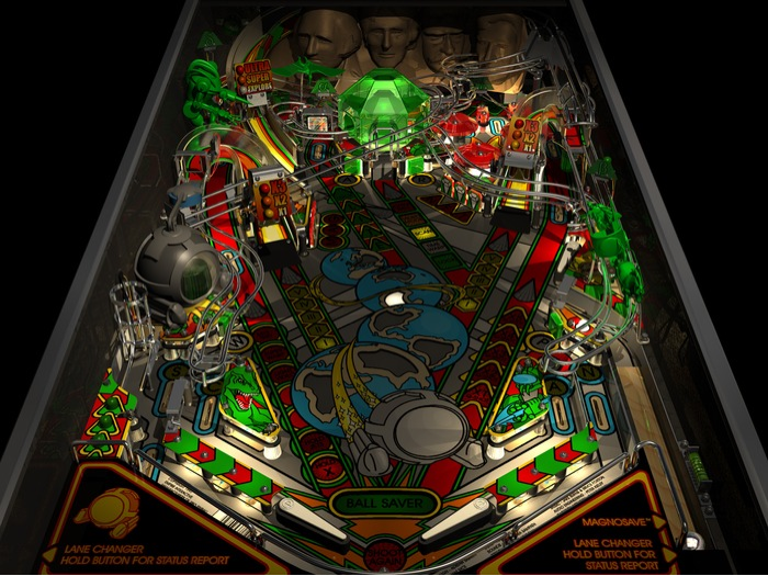 Timeshock! Playfield (1997 version)