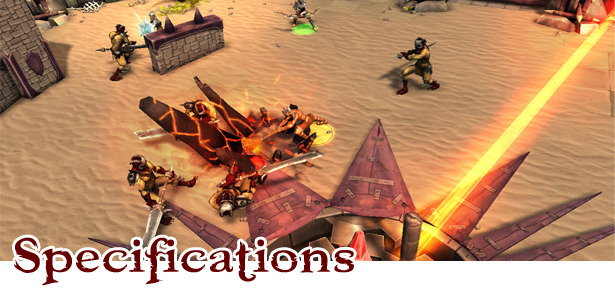 FORCED Action RPG Specificatons