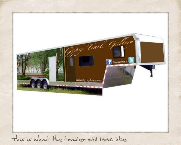 The $5000 raised will go toward the cost of the trailer.  Any additional money raised will go toward extending the tour.