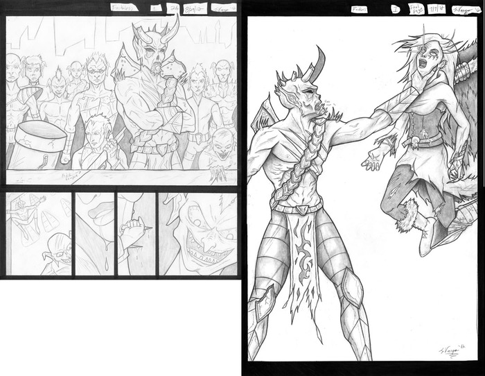 Pages 26 and 30 Penciled