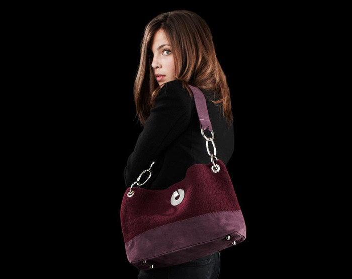 Persian Plum Shoulder bag, Fall 2012, Photo credit, Sean Dagen Photography
