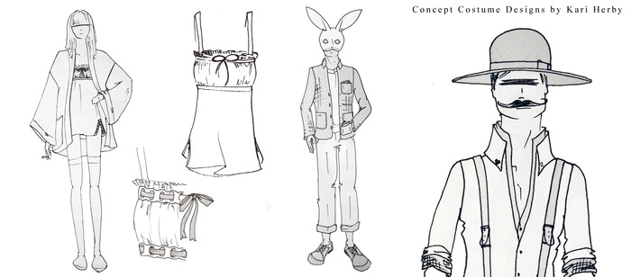 Concept Costume Designs by Kari Herby