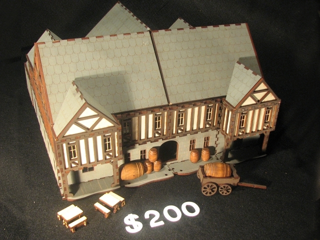 The Well Oiled Scabbard Tavern - $200