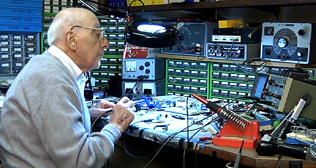 At age 90, Ralph H. Baer is still inventing and creating magic in his home workshop.