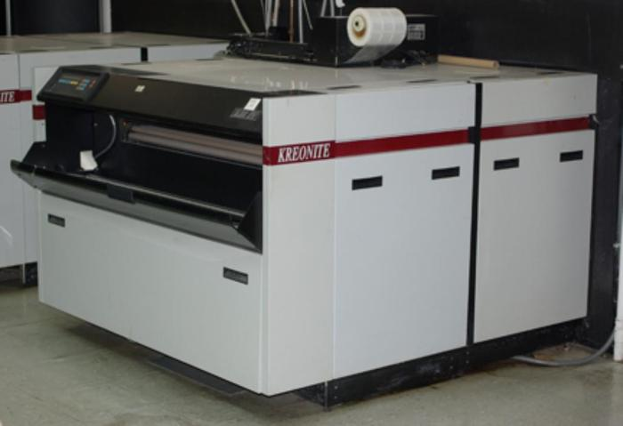 "Kreonite 50"" Black & White paper processor"