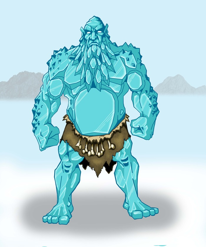 Jotun Drengr (ice giant warrior)