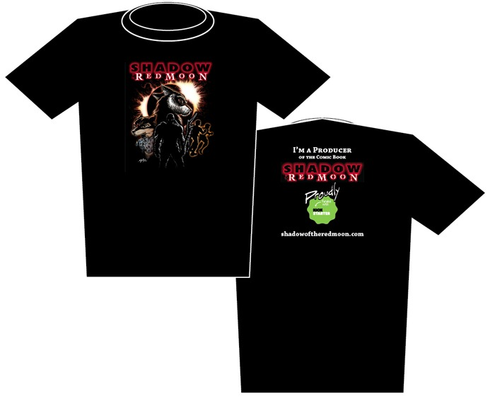 Shadow of the Red Moon Kickstarter Funded Shirt