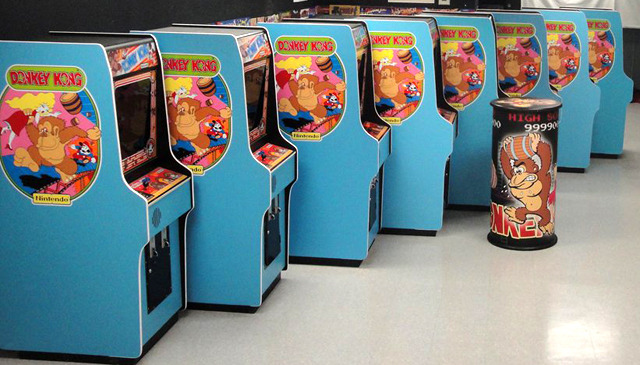 "Own an original Richie Knucklez restored limited The King of Arcades edition arcade machine.  MUSEUM QUALITY!  Richie's machines look like they are ""fresh out of the box.""  You can choose from three of the classics: Donkey Kong, Galaga, or Ms. Pac-Man."