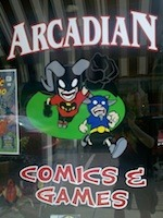 ARCADIAN COMICS & GAMES