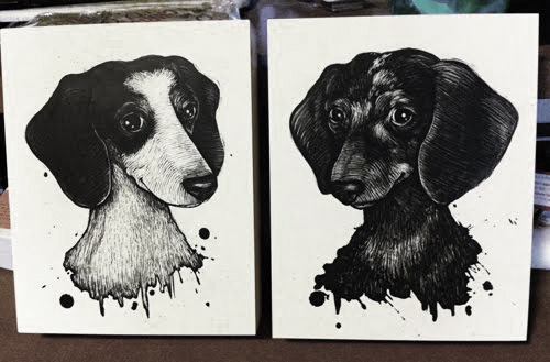 Original Scratchboard Art of YOUR Special Animal