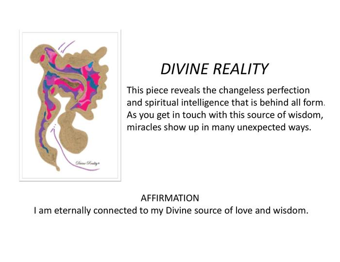 """Divine Reality"" can boost your inner wisdom."