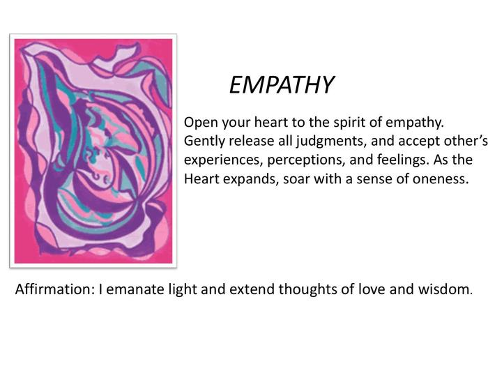 """Empathy"" soothes indifference."
