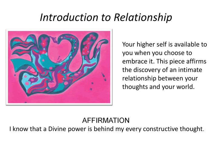 """Introduction to Relationship"" releases resentments"