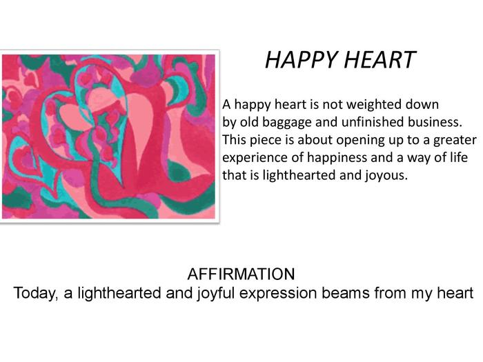 """Happy Heart"" revitalizes hope."