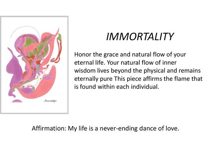 """Immortality"" is infinite life on many planes."