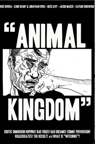 """ANIMAL KINGDOM"" cover"