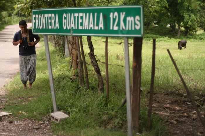Guatemalan Border Crossing, taken in Copan, Honduras