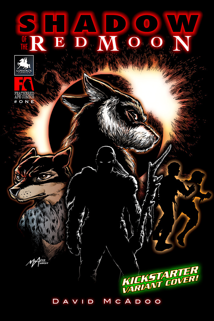 Shadow of the Red Moon Kickstarter Only Variant Cover