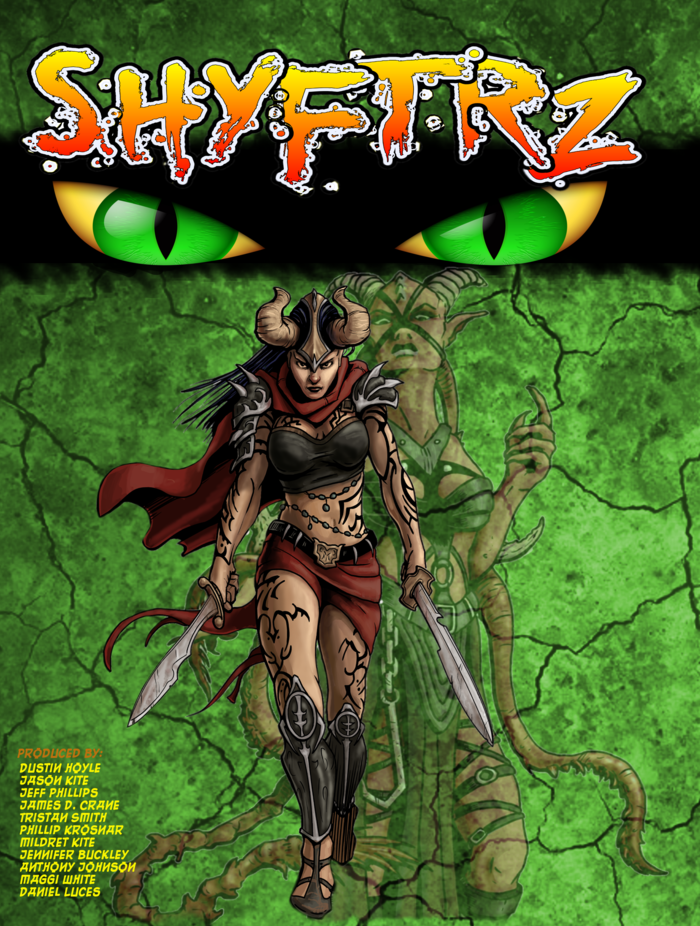 Cover of the game box. Art by Gary Dupuis.