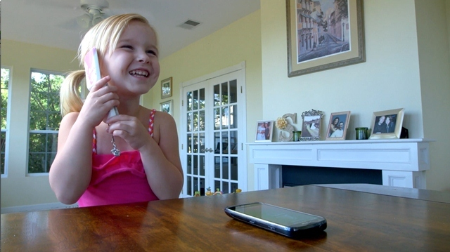 Pipsqueak allows your child to talk on their OWN phone while your expensive smartphone stays safely out of their hands!