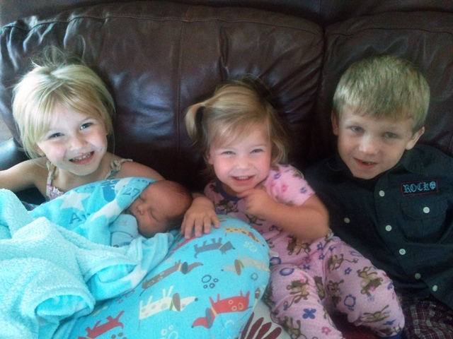 Lincoln, Lilah, Lucy and Lazarus