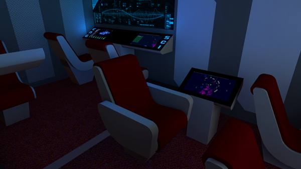 Captain's Chair and Map