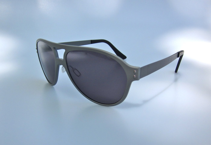 'The Nylon' aviator, standard grey