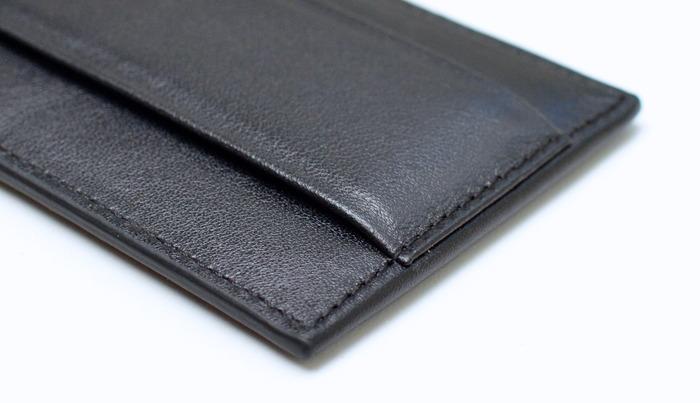 Premium nappa leather craftsmanship