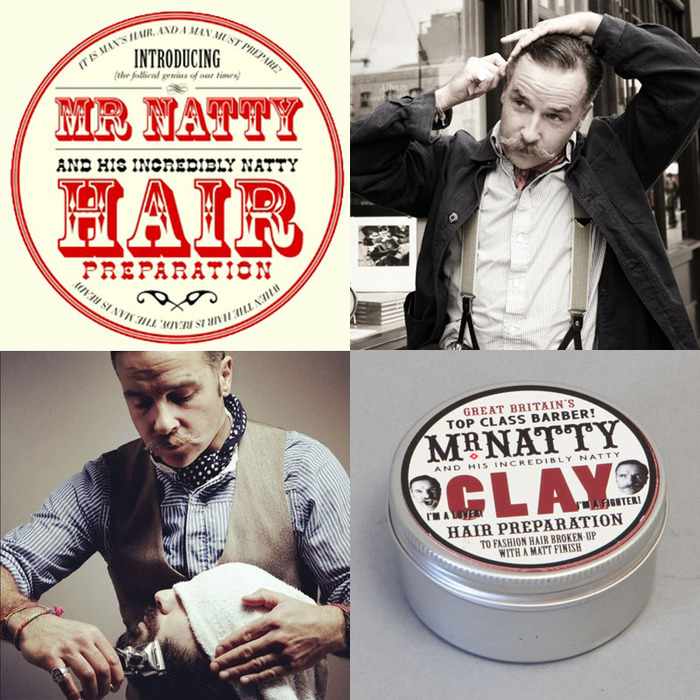 Mr. Natty gives you a shave and a haircut