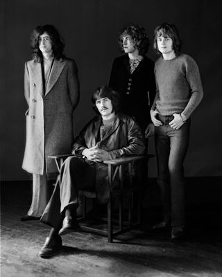 © Herb Greene - 1969 Led Zeppelin 8x10 signed & matted Silver Gelatin Fiber Print