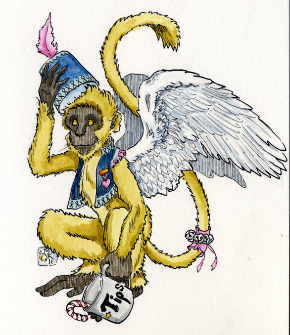 Tip Monkey original art reward!