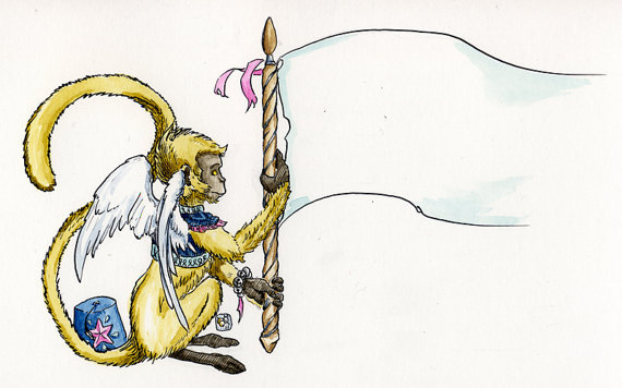 Banner Monkey original art reward