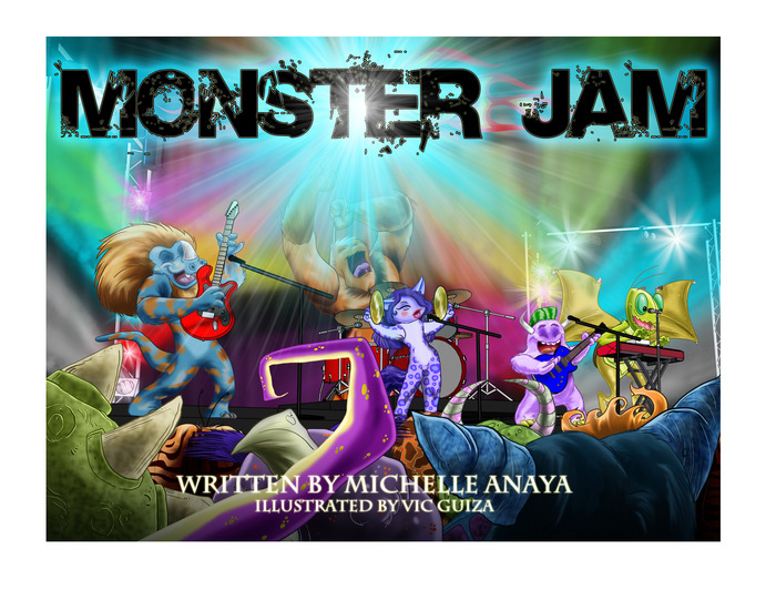 Monster Jam book cover