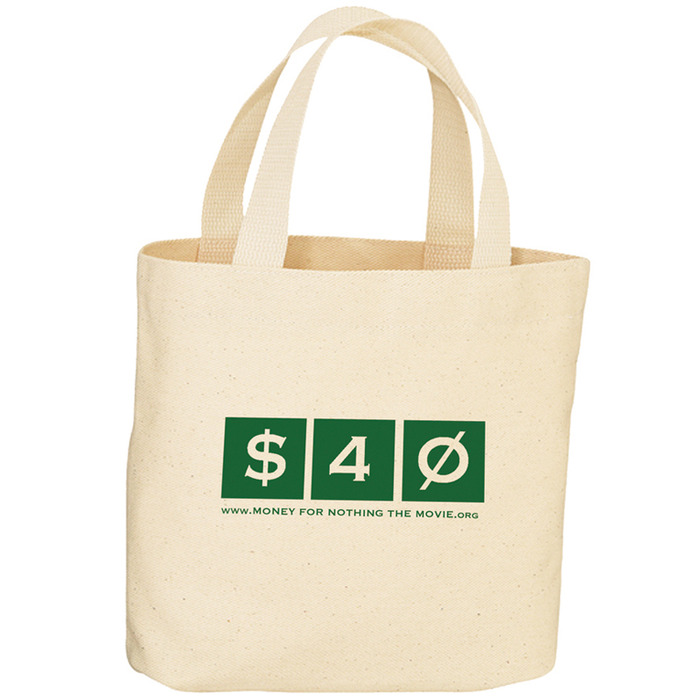 Official Money For Nothing Canvas Tote Bag