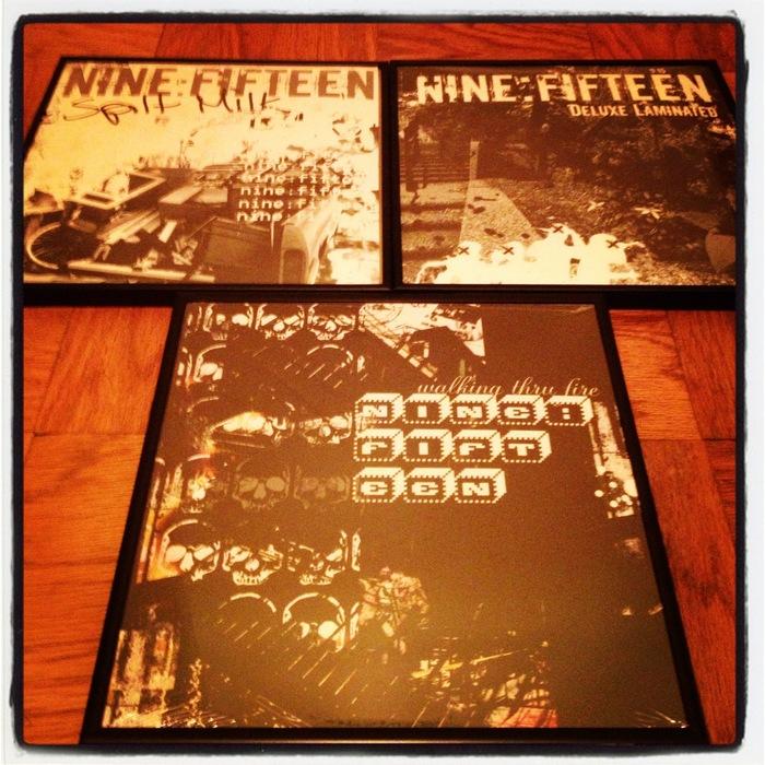 "Nine:Fifteen ""Spilt Milk"", ""Deluxe Laminated"", and ""Walking Thru Fire"" aka The Trilogy"