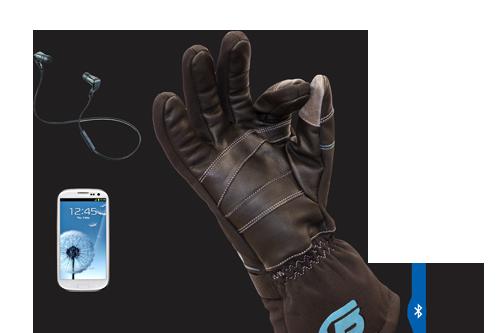 BEARTek Bluetooth Motorcycle Gloves