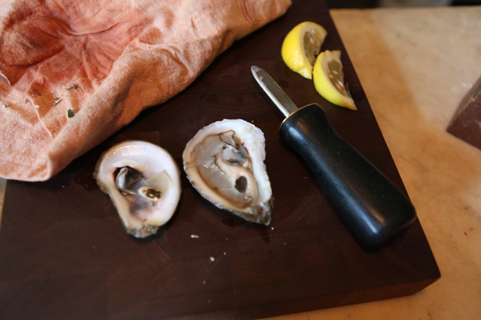 ADULT CLASS REWARD: Oyster knife and class by Chris Harth