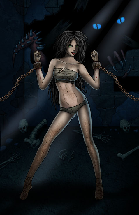 Carianna - A vile, venomous, serial killing, woman who deceives men into loving her then breaks their hearts and drives them to suicide or when she feels sporting kills them herself in a dramatic theatrical way.